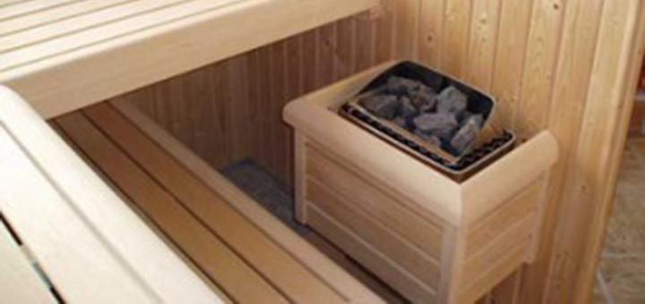 Sauna kachels