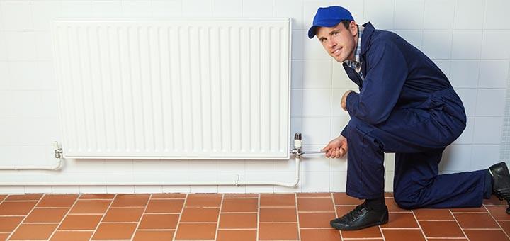 Lekkende radiator